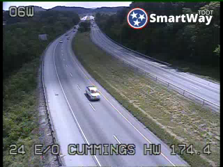 I-24 East of Cummings Hwy (647) - Tennessee