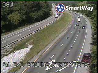 I-24 East of Browns Ferry Rd (651) - Tennessee