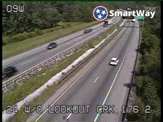 I-24 West of Lookout Creek (653) - Tennessee