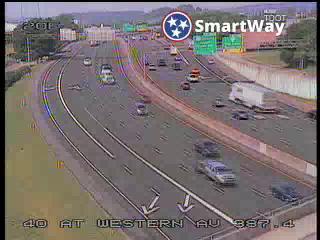 I-40 @ Western Av (942) - Tennessee