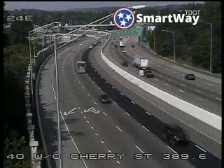 I-40 @ East of Hall of Fame (946) - Tennessee