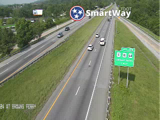 I-24 @ Browns Ferry Rd (81723) - Tennessee