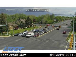 700 E / SR-71 @ 4500 S / SR-266, MUR - Utah