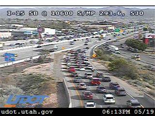 I-15 SB @ 10600 S / South Jordan Pkwy / SR-151 / MP 293.6, SJO - Utah