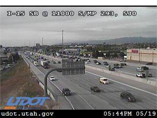 I-15 SB @ 11000 S / MP 293, SJO - Utah