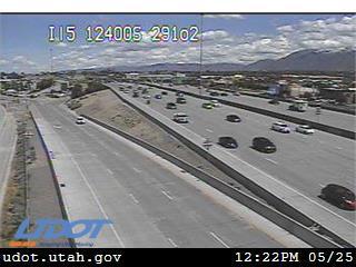 I-15 SB @ 12400 S / MP 291.22, DPR - Utah