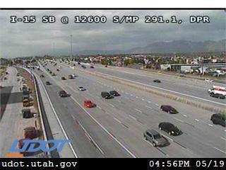 I-15 SB @ 12600 S / MP 291.1, DPR - Utah