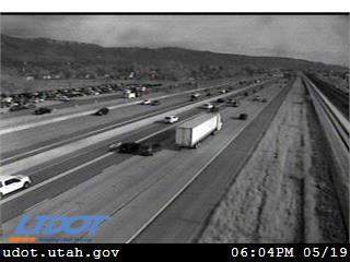 I-15 SB @ 1400 N / MP 320.46, CVL - Utah