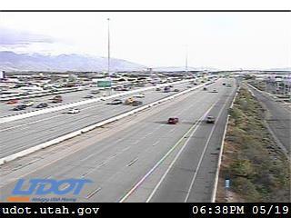 I-15 SB @ 1500 S / MP 306.11, SLC - Utah
