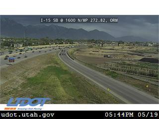 I-15 SB @ 1600 N / SR-241 / MP 272.82, ORM - Utah