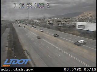 I-15 SB @ 1700 N / MP 310.93, SLC - Utah