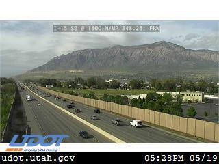 I-15 SB @ 1800 N / Harrisville Rd / MP 348.23, FRW - Utah
