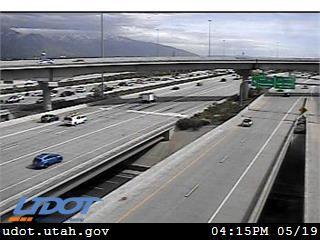 I-15 SB @ 2100 S / SR-201 / MP 305.25, SLC - Utah