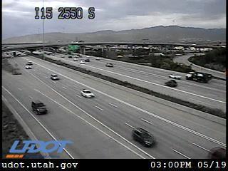 I-15 SB @ 2550 S / MP 304.53, SSL - Utah