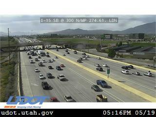 I-15 SB @ 300 N / MP 274.61, LDN - Utah