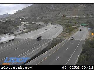 I-215 E NB @ 6400 S / MP 6.56, HDY - Utah