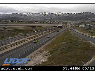 I-80 WB @ Silver Creek Jct / US-40 / MP 146.84, SU - Utah