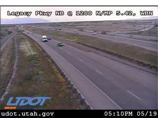 Legacy Pkwy / SR-67 NB @ 1200 N / MP 5.42, WBN - Utah
