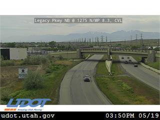 Legacy Pkwy / SR-67 NB @ 1275 N / MP 8.3, CVL - Utah