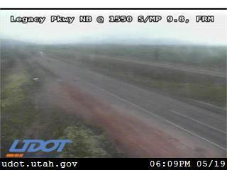 Legacy Pkwy / SR-67 NB @ 1550 S / MP 9.8, FRM - Utah