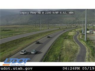Legacy Pkwy / SR-67 NB @ 2200 N / MP 6.62, WBN - Utah