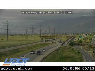 Legacy Pkwy / SR-67 NB @ 2500 S / MP 2.5, WXS - Utah