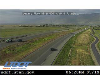 Legacy Pkwy / SR-67 NB @ 400 N / MP 4.7, WBN - Utah
