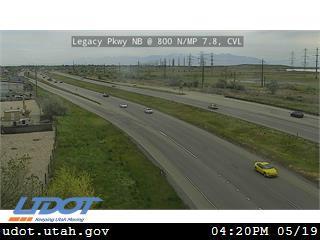 Legacy Pkwy / SR-67 NB @ 800 N / MP 7.8, CVL - Utah