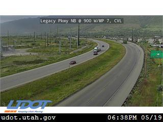 Legacy Pkwy / SR-67 NB @ 900 W / MP 7, CVL - Utah