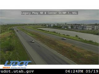 Legacy Pkwy / SR-67 NB @ Center St / MP 1, NSL - Utah