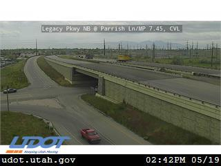 Legacy Pkwy / SR-67 NB @ Parrish Ln / SR-105 / MP 7.45, CVL - Utah