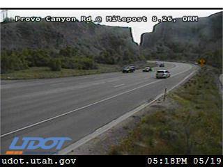 Provo Canyon Rd / US-189 @ Mouth of Provo Canyon / MP 8.26, ORM - Utah