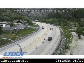 Provo Canyon Rd / US-189 @ Vivian Park / MP 13.16, UT - Utah