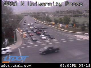 University Ave / US-189 @ 2230 N, PVO - Utah