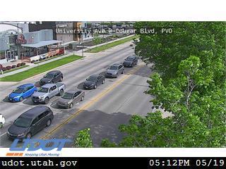 University Ave / US-189 @ Bulldog Blvd / 1230 N, PVO - Utah