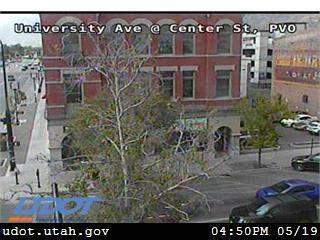 University Ave / US-189 @ Center St, PVO - Utah