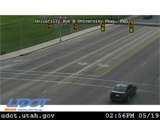 University Ave / US-189 @ University Pkwy / 1650 N / SR-265, PVO - Utah