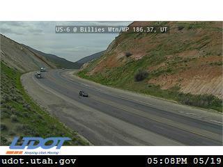 US-6 @ Billies Mtn / MP 186.37, UT - Utah