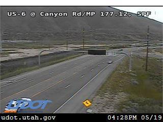 US-6 @ Canyon Rd / SR-198 / MP 177.12, SPF - Utah