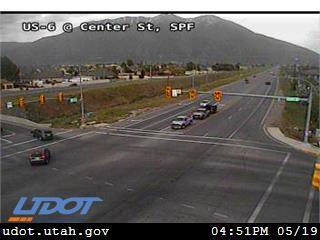 US-6 @ Center St / 1430 E, SPF - Utah