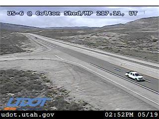 US-6 @ Colton Shed / MP 217.11, UT - Utah