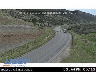 US-6 @ Gilluly Switchback / MP 206.46, UT - Utah