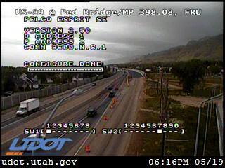 US-89 @ Pedestrian Bridge / MP 398.08, FRU - Utah