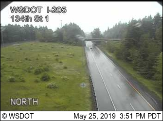 I-205: 134th St Looking South - USA