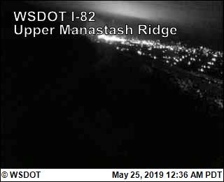 Manastash Ridge Summit on I-82 @ MP 7 - USA
