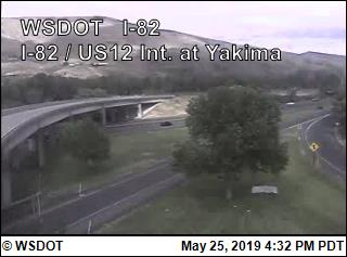 I-82 / US 12 Interchange @ N. Yakima - USA