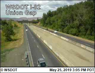 Union Gap on I-82 - USA