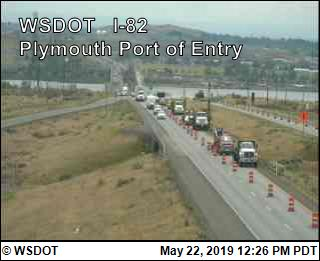 Plymouth Port of Entry on I-82 @ MP131.5 - USA