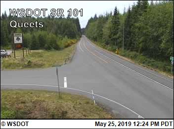 Queets on SR 101 @ MP 151.7 - Washington