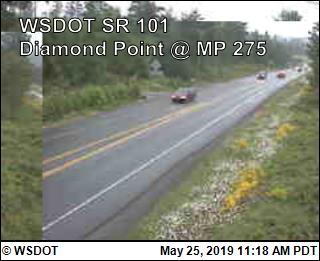 Diamond Point on US 101 @ MP 275 - Washington
